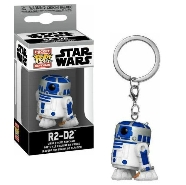 Funko Pocket POP! Star Wars – R2-D2 Vinyl Figure Keychain