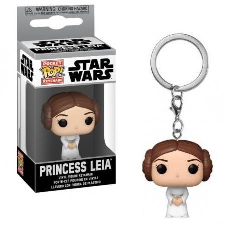 Funko Pocket POP! Star Wars – Princess Leia Vinyl Figure Keychain