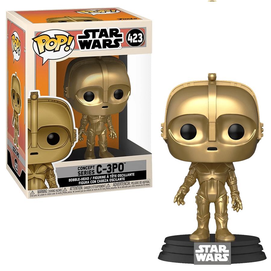 Funko POP! Star Wars: Concept Series C-3PO #423