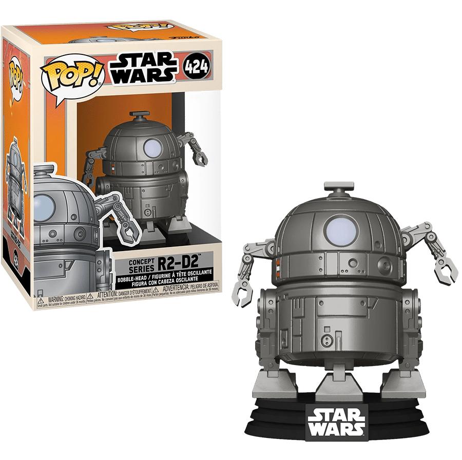 Funko POP! Star Wars: Concept Series R2-D2 #424