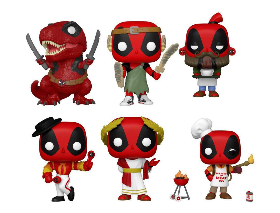 Γιορτάζουμε τα 30 χρόνια Deadpool με τις πιο fun φιγούρες!